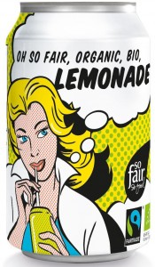 Lemoniada Fair Trade BIO 330ml - OXFAM